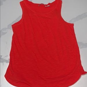 Red Athleta work out tank